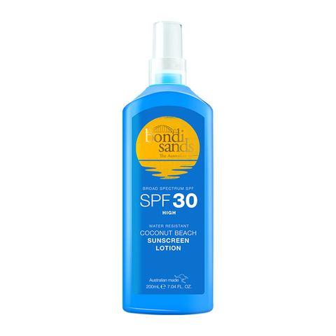 Bondi Sands sunscreen