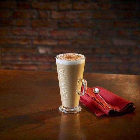 Costa Bonfire Spiced Latte