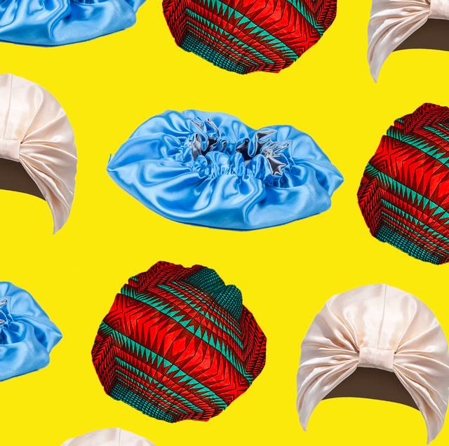 8 Satin Hair Bonnets To Protect Natural Hair Satin Hair Scarfs