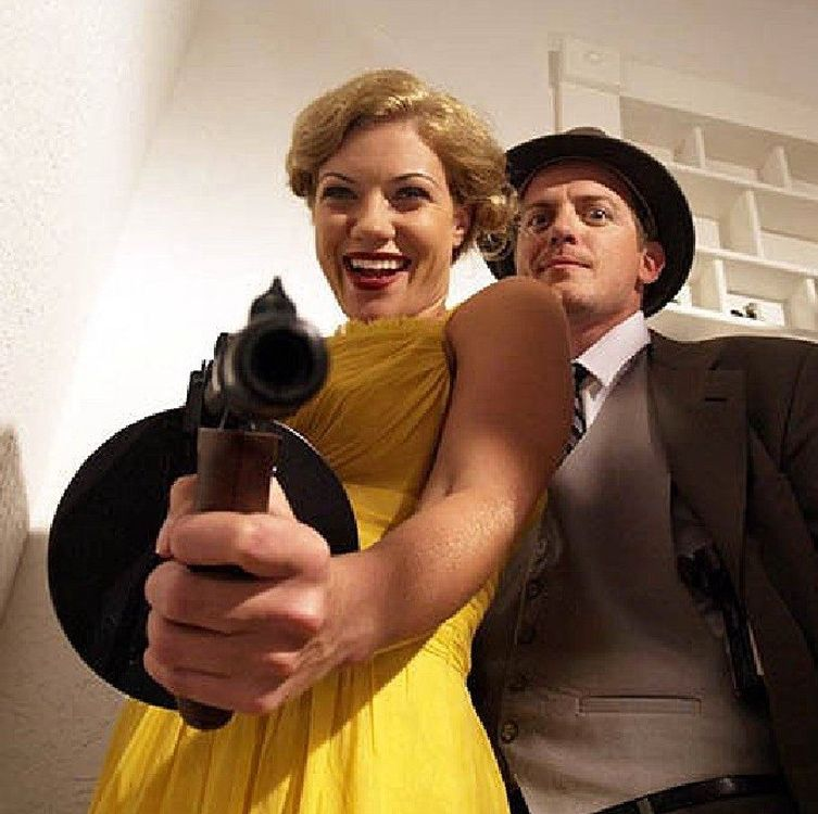 Bonnie & Clyde vs Dracula (2008) Set in a mansion where Bonnie and Clyde are hiding, the duo realizes that Dracula has been brought back to life. That's as far as we'll go explaining the plot, because it's just not a very good movie.