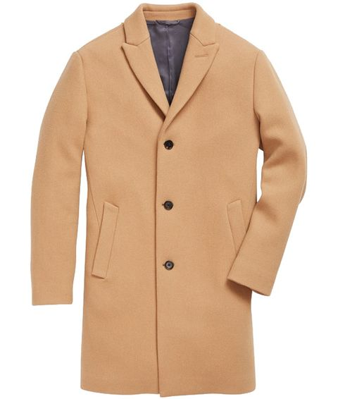Clothing, Outerwear, Overcoat, Coat, Tan, Jacket, Beige, Sleeve, Brown, Blazer,
