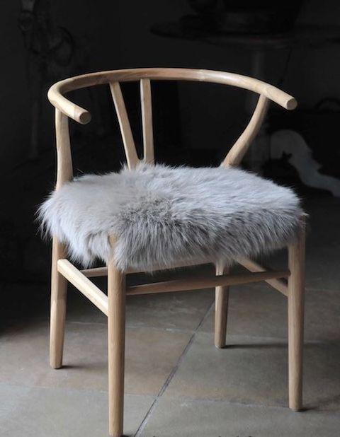 Koektrommel bont stoel