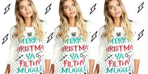 Boohoo Harry Potter Christmas jumpers