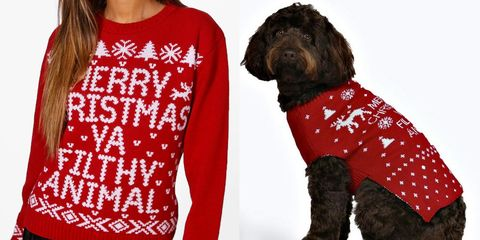 229ca1a9b506 Matching Christmas jumpers for you and your dog now exist