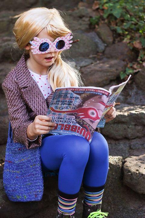 book character costumes   luna lovegood
