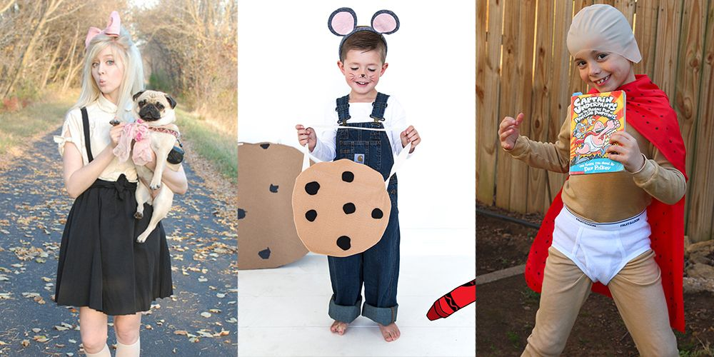 22 Super,Easy Book Character Costumes for Kids \u0026 Teachers