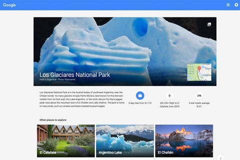 Google Plan A Trip