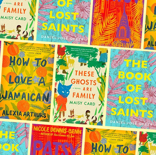 covers of books by caribbean authors