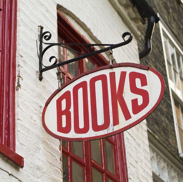 books bookstore sign   english language