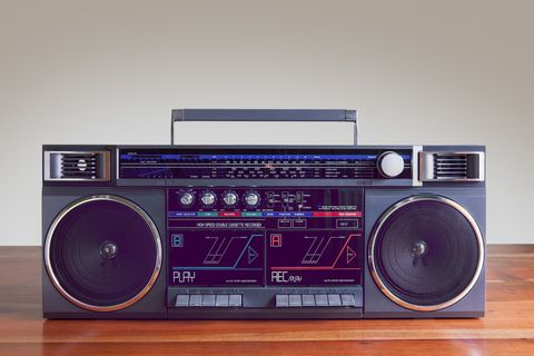 fortieth birthday party boombox