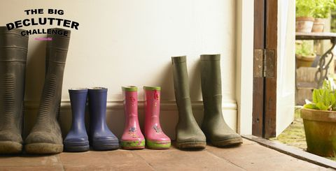 Boot room - wellies and boots