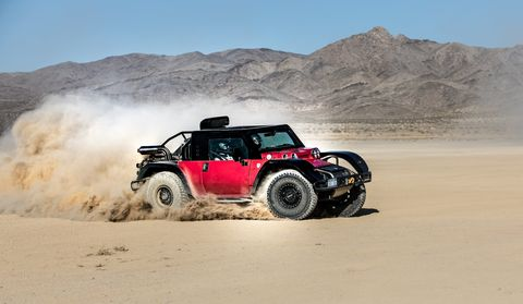 Vehicle, Motor vehicle, Off-roading, Sand, Off-road vehicle, Automotive tire, All-terrain vehicle, Natural environment, Car, Desert racing,