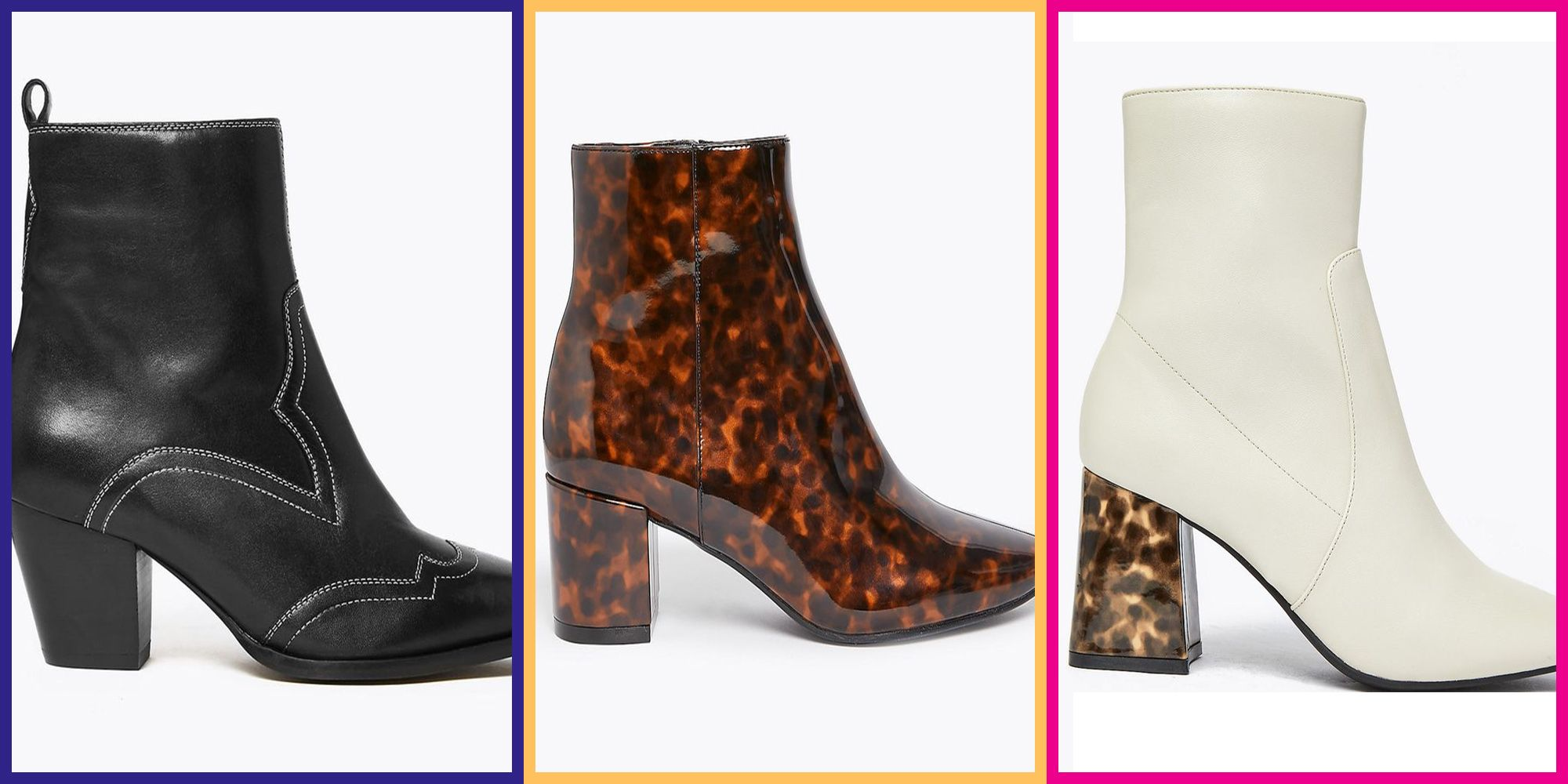 The best statement M\u0026S ankle boots to