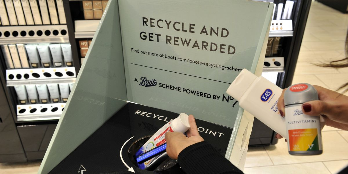 Boots launches new in-store beauty recycling scheme and you can earn up to 500 Advantage Card points a day