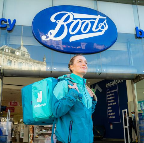 boots launch on deliveroo