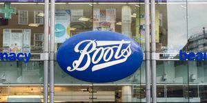 Boots shop sign
