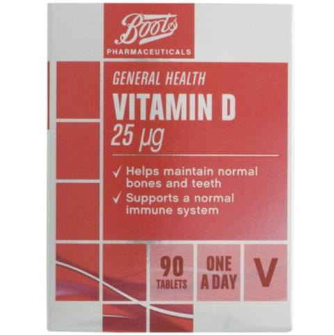 Boots Vitamin D