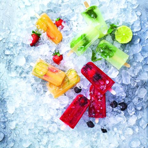 alcoholic ice lollies recipe