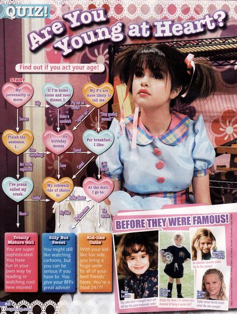 bop magazine teen mag quiz selena gomez