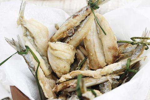 boquerones fritos en aceite de oliva