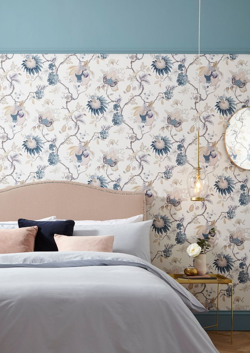 Peachy 13 Bedroom Wallpaper Ideas To Help Banish Plain Walls Home Interior And Landscaping Eliaenasavecom