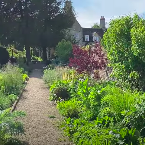 tour of adam frost's garden   chelsea flower show