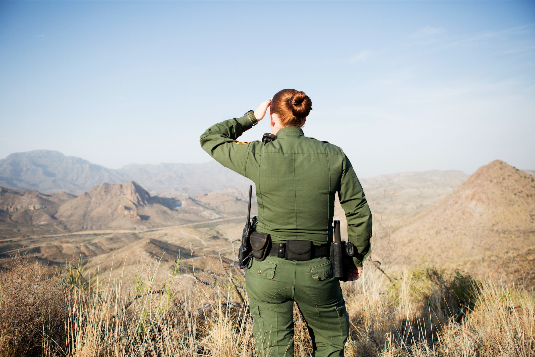 what it s like to be a female border patrol agent