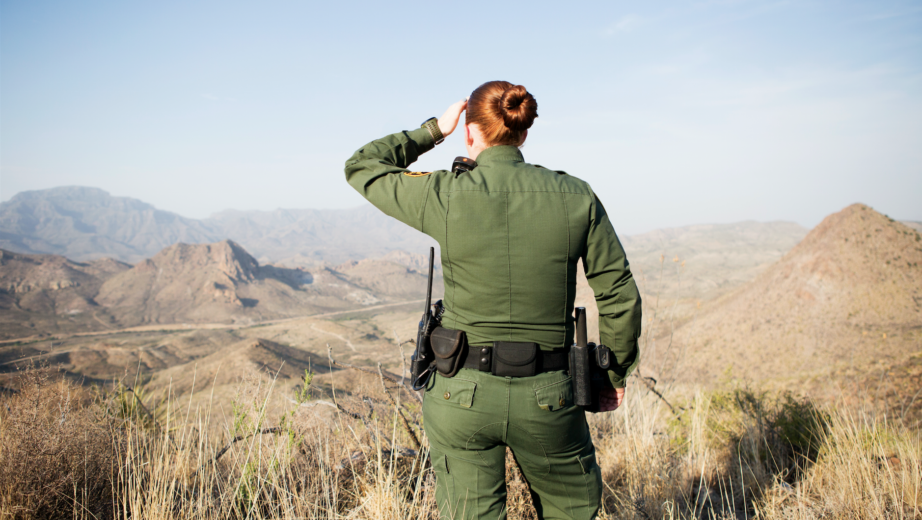 What It's Like to Be a Female Border Patrol Agent