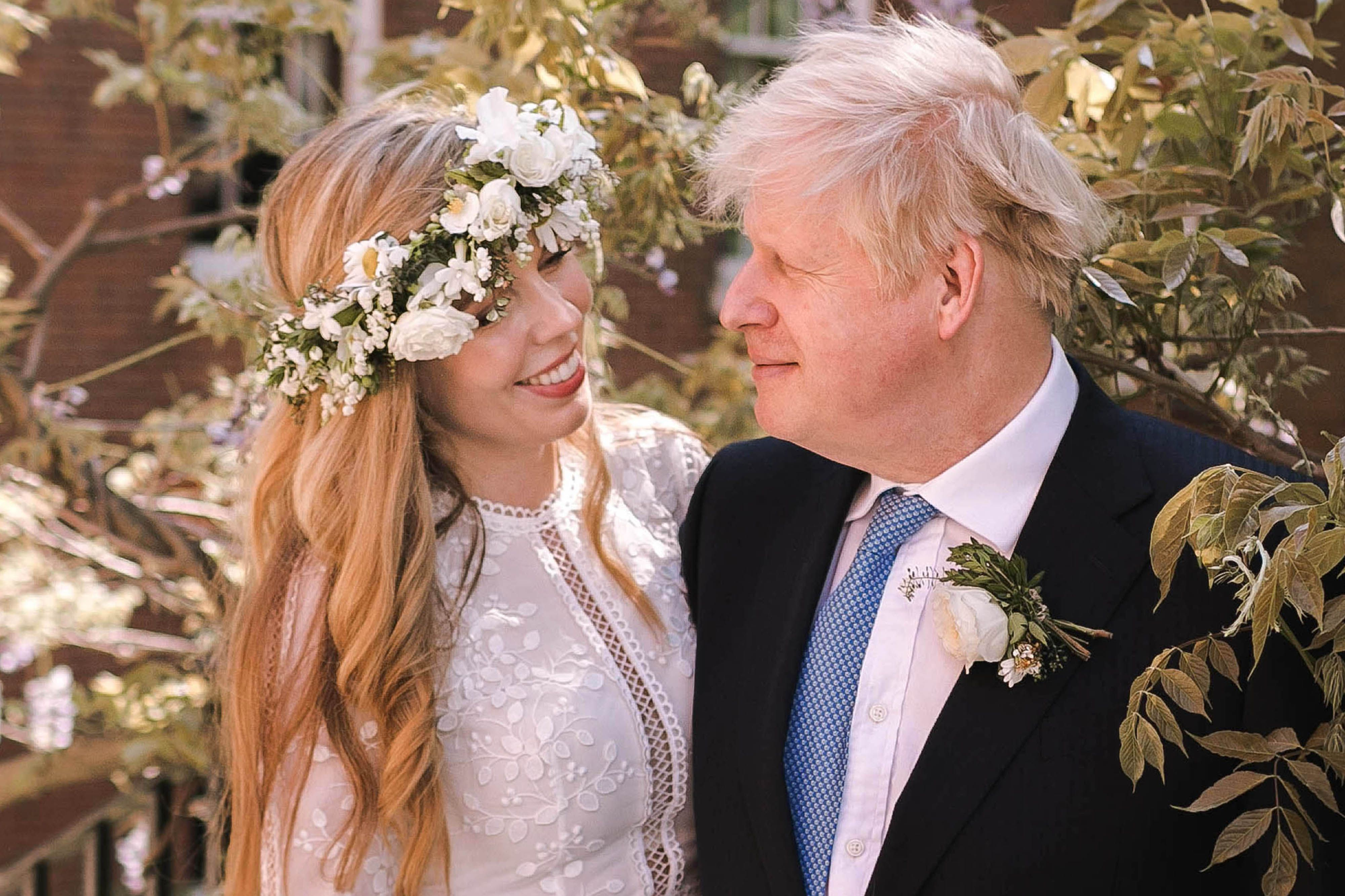 Boris and Carrie Johnson's son Wilfred looks so grown up in new pictures