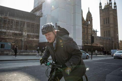 Boris Johnson admits he bikes on sidewalks