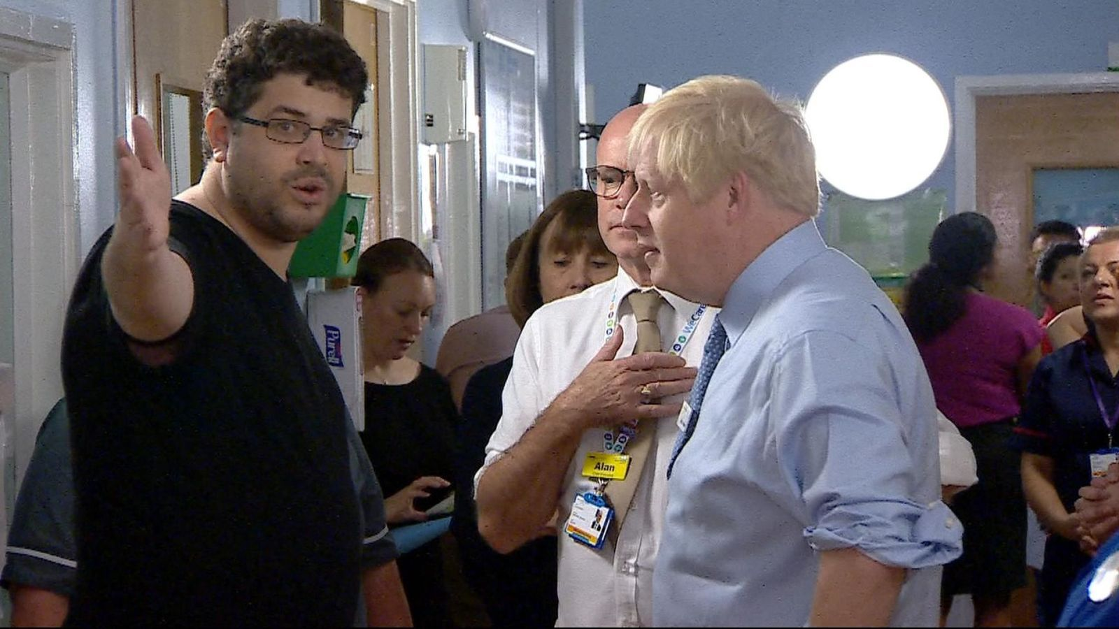 Boris Johnson's hospital visit has sparked outrage