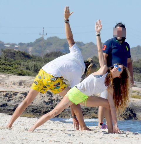 Famosos yoga
