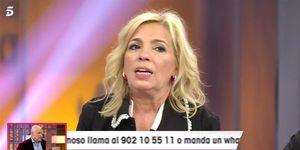 Carmen Borrego habla de Antonio David