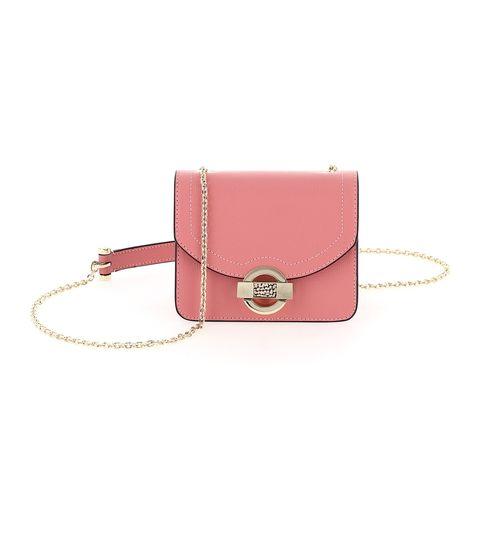 Bag, Handbag, Pink, Fashion accessory, Leather, Magenta, Shoulder bag, Wallet, Wristlet, Coin purse,