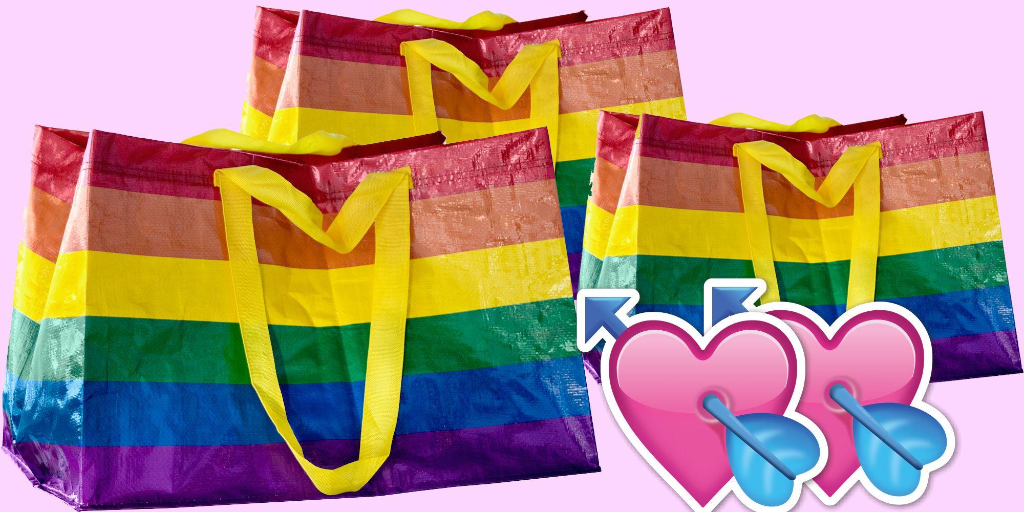 Contro Arcobaleno L'omofobia Borsa Ikea La vw0mn8N