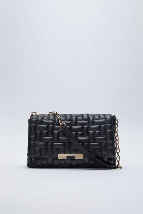 le borse nere eleganti di tendenza da giorno e da sera