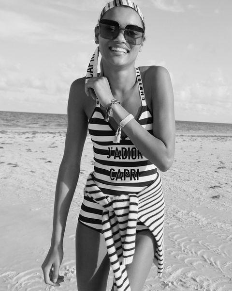 White, Eyewear, Photograph, Black-and-white, Sunglasses, Beauty, Fashion, Summer, Monochrome photography, Photography,