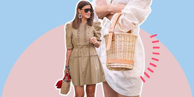 la moda estate 2020 delle borse mare chiama a gran voce gli abbinamenti con i modelli di paglia, magari decorati e marocchine, scopri indossarle anche in città