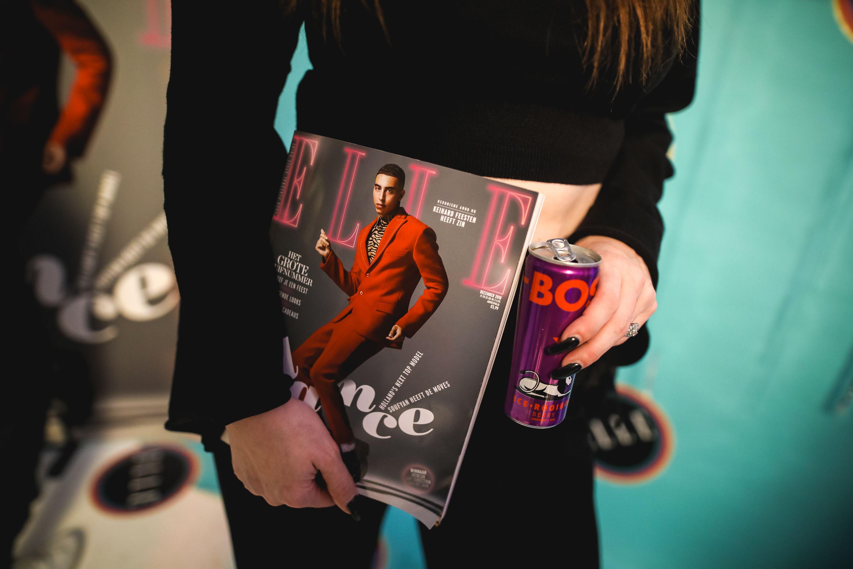 Foto's vanELLE's decembernummer lancering