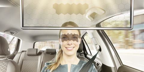 Bosch's Eye-Tracking Sun Visor Aims to Stop Squinting While Driving