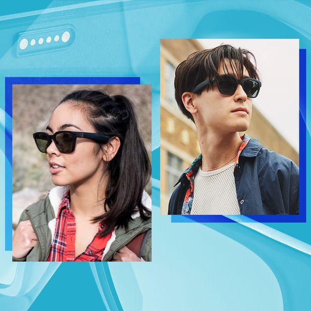 people wearing bose bluetooth sunglasses