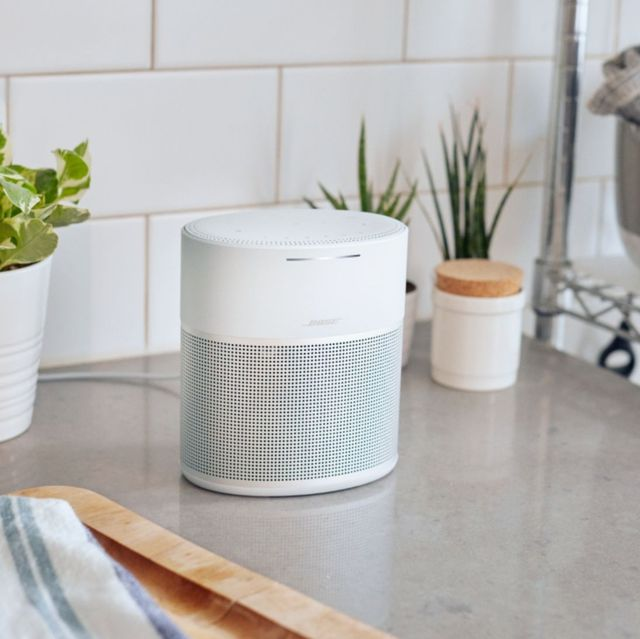 bose home speaker 300 on kitchen counter