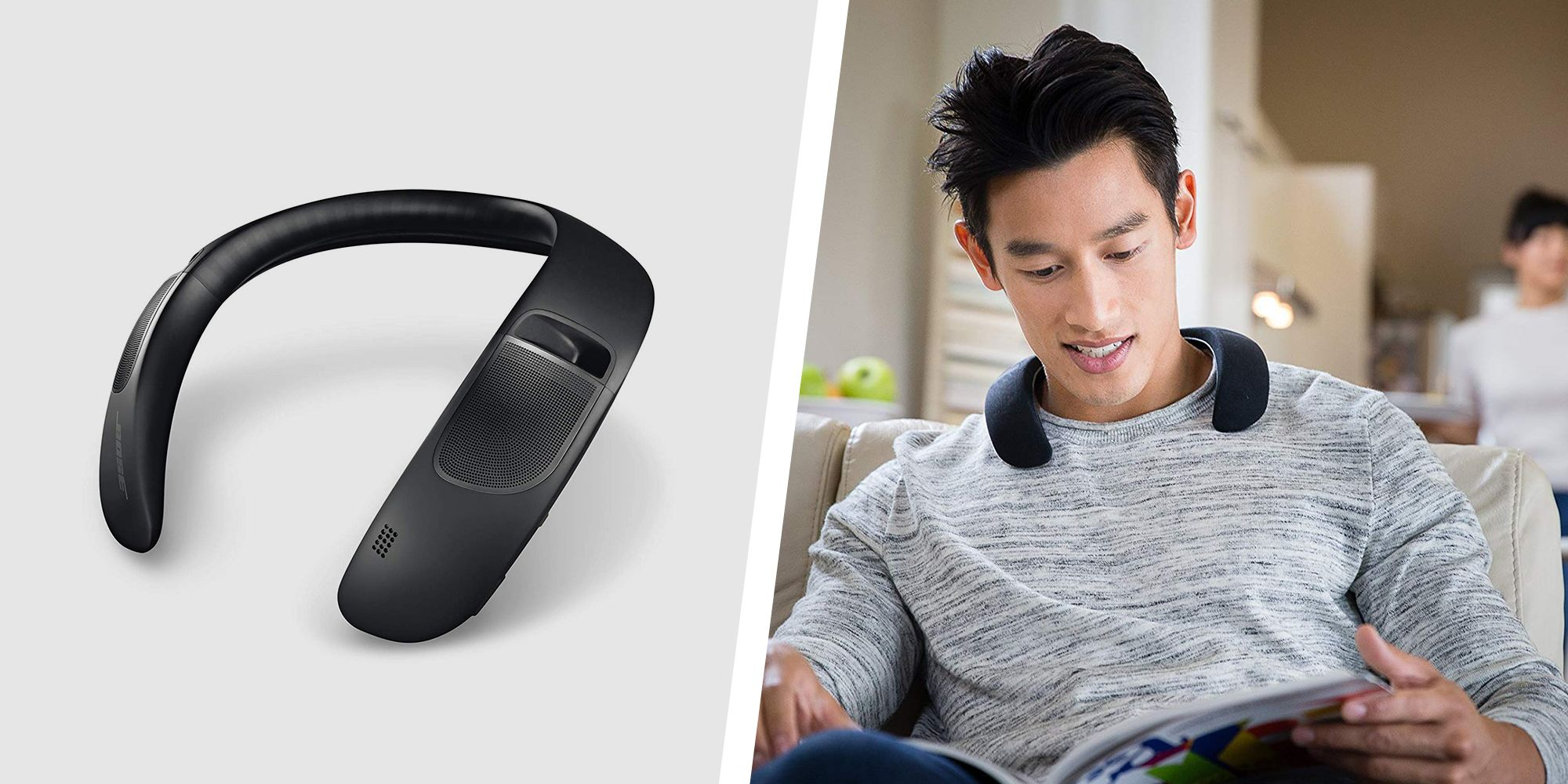The Bose Soundwear Companion Wireless Wearable Speaker is Half Off at Amazon Today