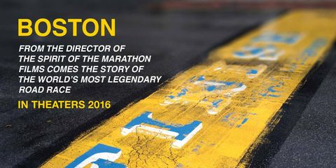 Poster for Boston Marathon film