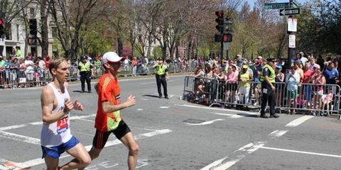 Boston Cops at 2013 Boston Marathon