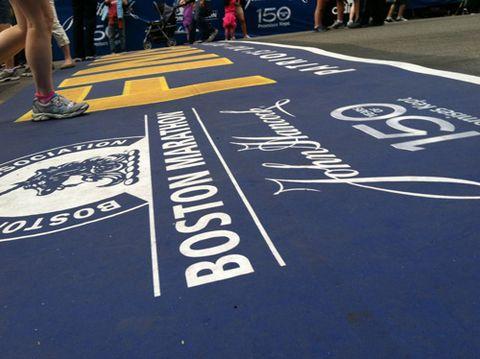 Jenny Boston Finish Line