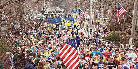 start of 2013 Boston Marathon
