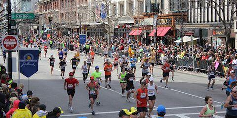 Boston Marathon 2013 near finish line