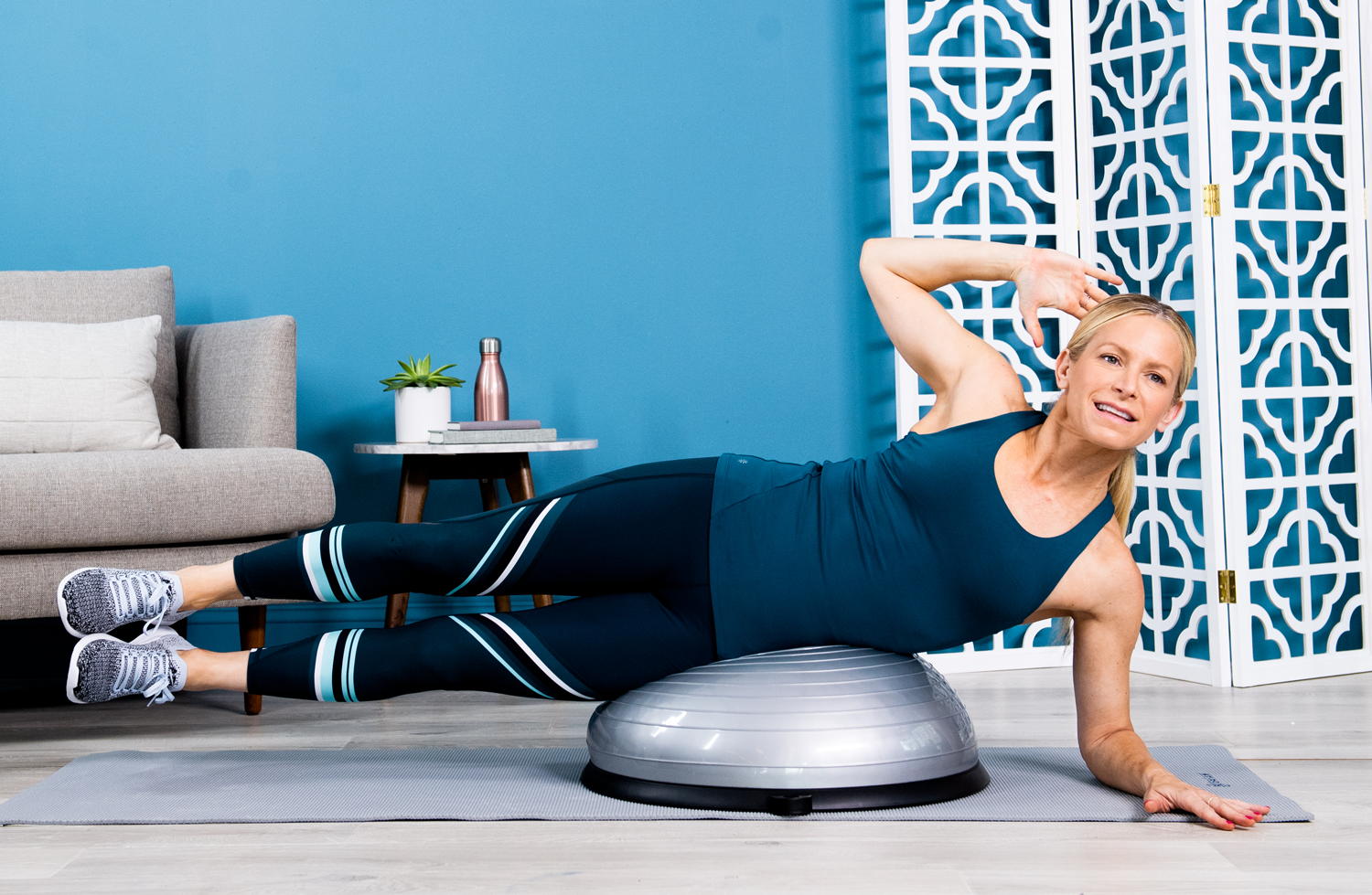 10 Best BOSU Ball Exercises That'll Whip Your Entire Body Into Shape