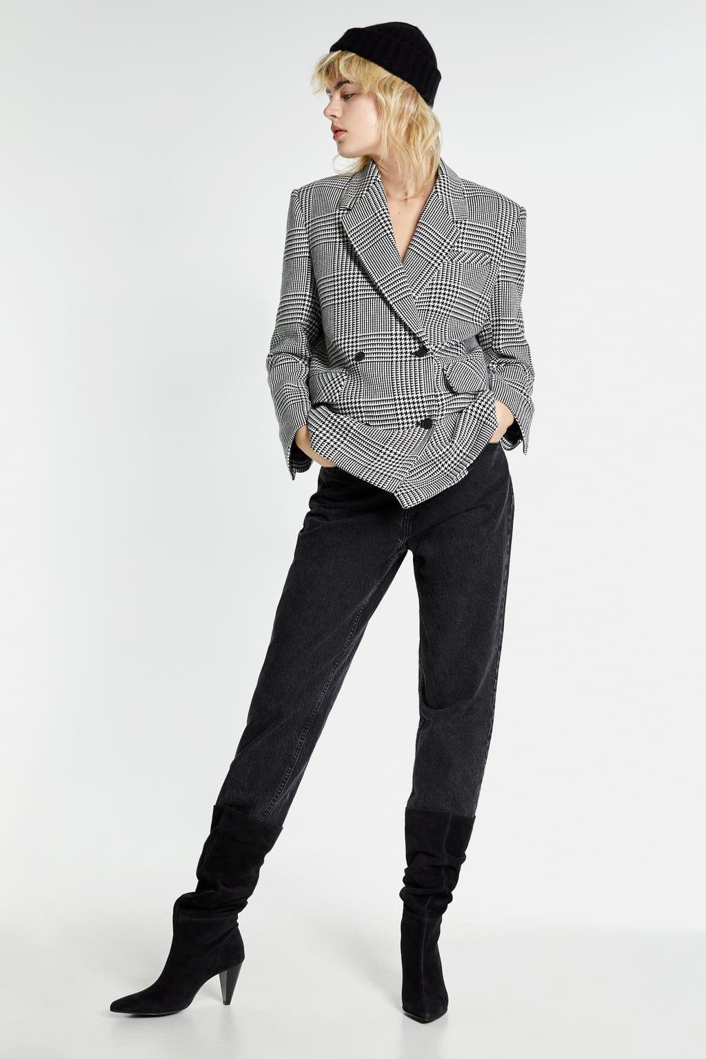 La bota alta de Zara que mejor queda con vaqueros y pantalones